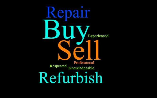 Buy Sell Repair Word Cloud